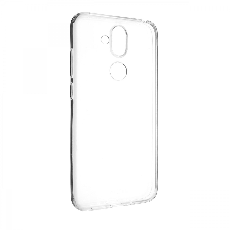 Ultratenké TPU gelové pouzdro FIXED Skin pro Nokia 7.1 Plus, transparentní