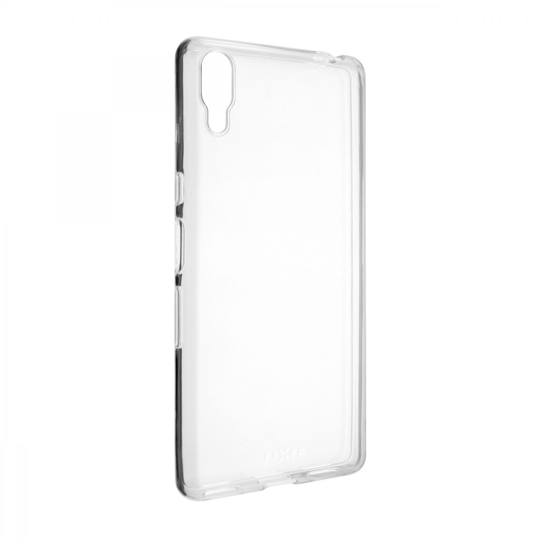 Ultratenké TPU gelové pouzdro FIXED Skin pro Sony Xperia L3, transparentní