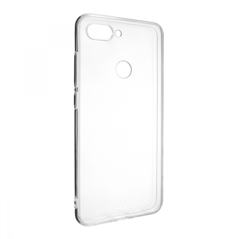 Ultratenké TPU gelové pouzdro FIXED Skin pro Xiaomi Mi8 Lite, transparentní