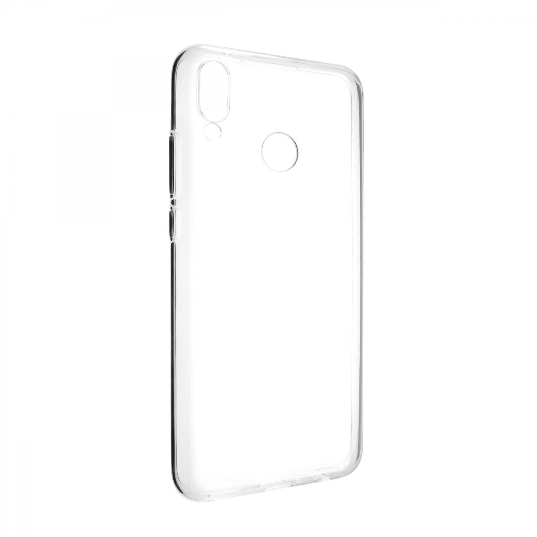 Ultratenké TPU gelové pouzdro FIXED Skin pro Huawei Y9 2019, transparentní