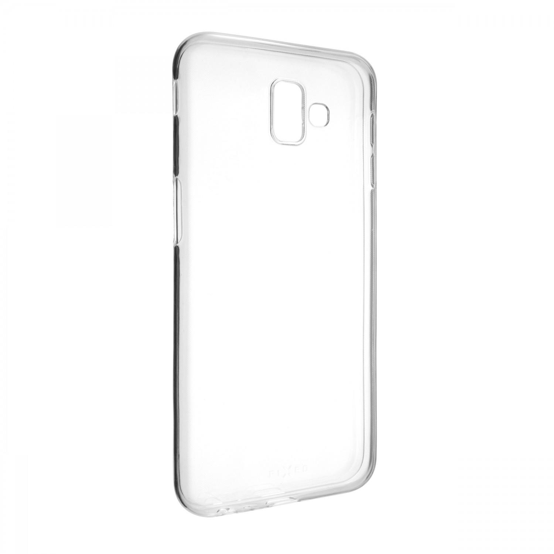 Ultratenké TPU gelové pouzdro FIXED Skin pro Samsung Galaxy J6+, transparentní