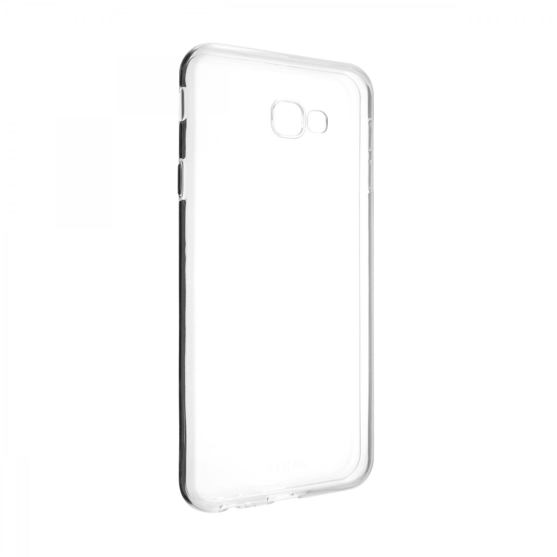 Ultratenké TPU gelové pouzdro FIXED Skin pro Samsung Galaxy J4+, transparentní