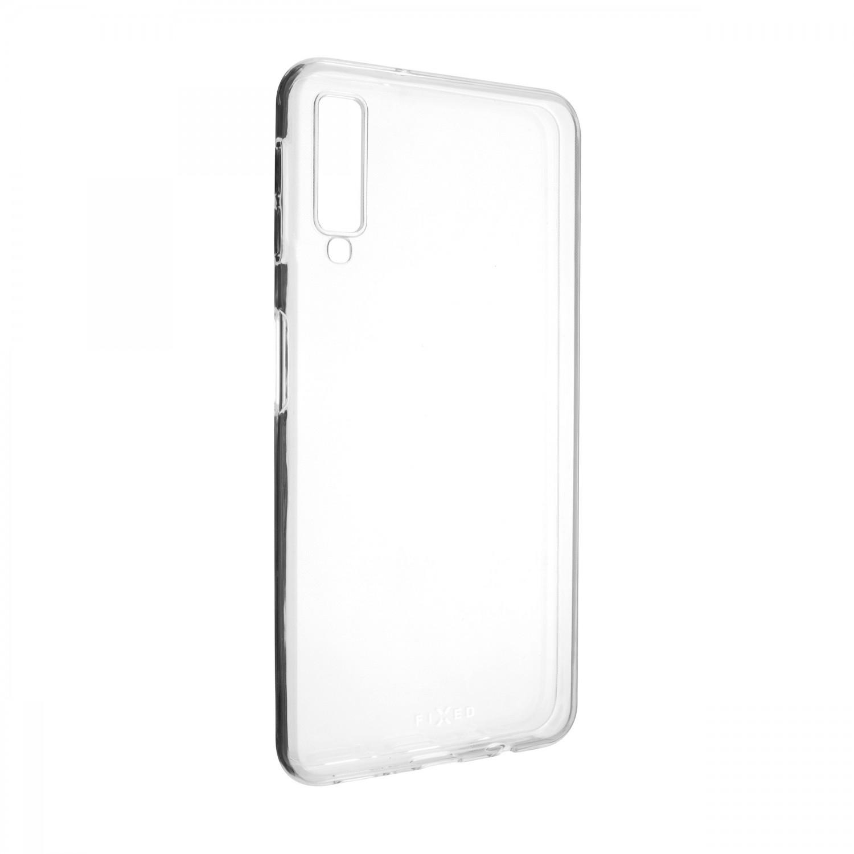 Ultratenké TPU gelové pouzdro FIXED Skin pro Samsung Galaxy A7 2018, transparentní