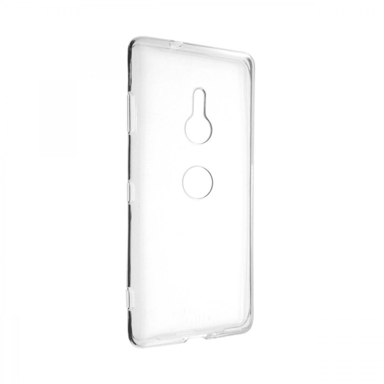 Ultratenké silikonové pouzdro FIXED Skin pro Sony Xperia XZ3, transparentní