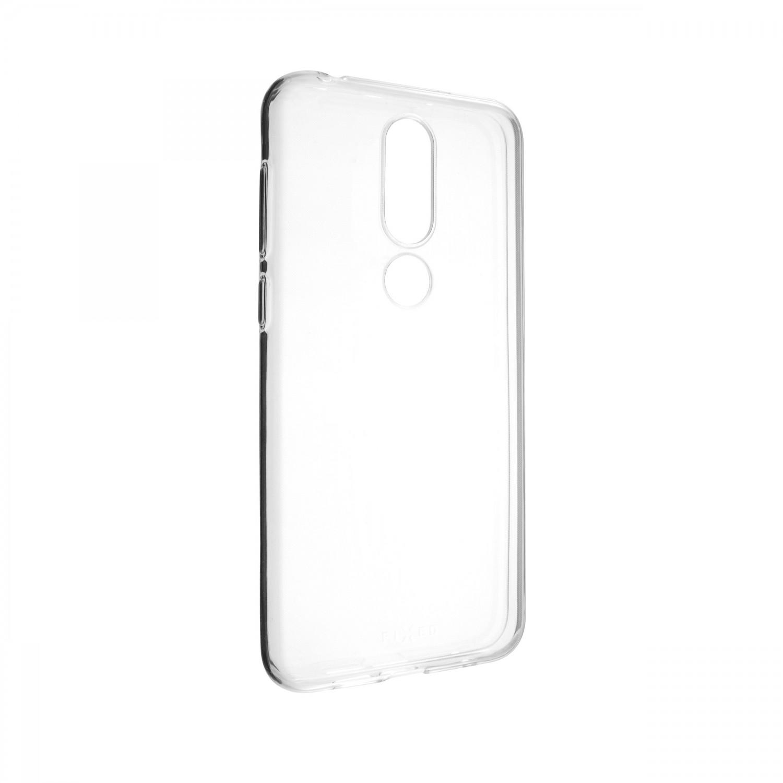 Ultratenké silikonové pouzdro FIXED Skin pro Nokia 6.1 Plus, transparentní