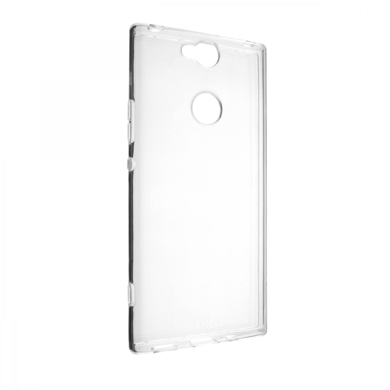 Ultratenké silikonové pouzdro FIXED Skin pro Sony Xperia XA2 Plus, transparentní