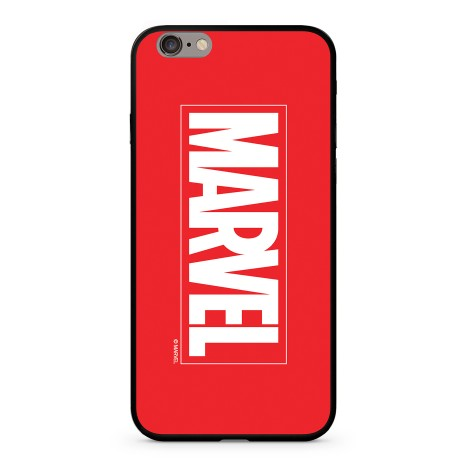 Zadní kryt Marvel 005 Premium pro Apple iPhone XS, red