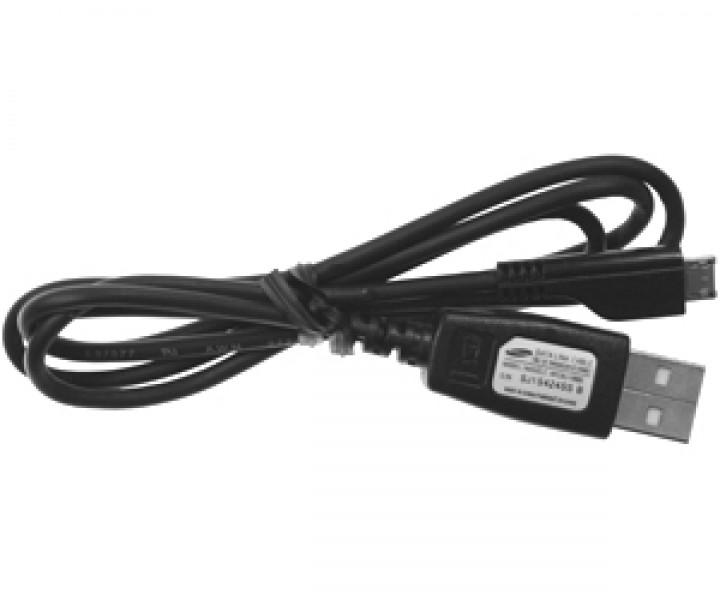 Datový kabel USB Samsung APCBU10BBE/ECC1DU0BBK microUSB, bulk, originální