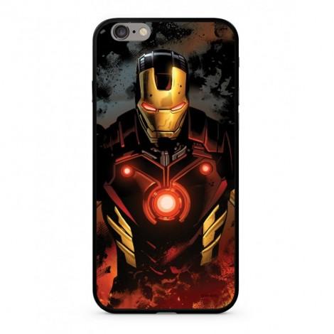Zadní kryt Marvel Iron Man 023 Premium Glass pro Samsung Galaxy S9, multicolored