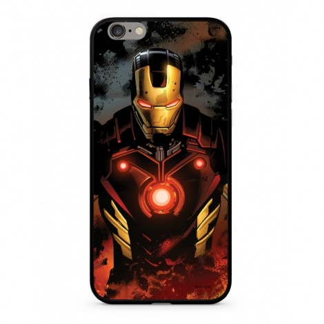 Zadní kryt Marvel Iron Man 023 Premium Glass pro Apple iPhone XS, multicolored