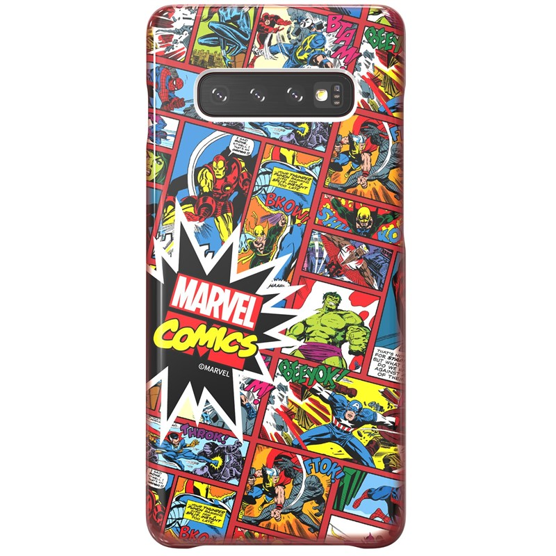 Zadní kryt Marvel Comics x Galaxy Friends Samsung Galaxy S10+