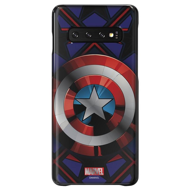Zadní kryt Marvel Captain America x Galaxy Friends Samsung Galaxy S10e