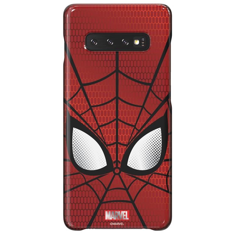 Zadní kryt Marvel Spider-Man x Galaxy Friends Samsung Galaxy S10