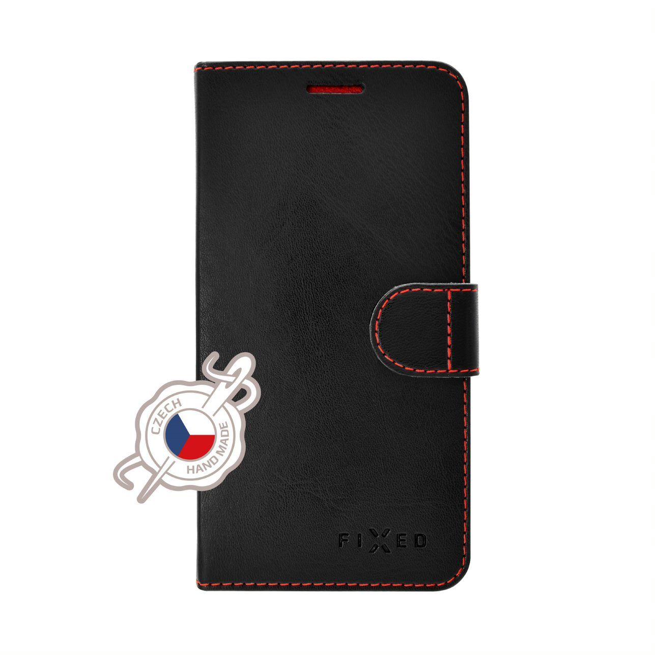 FIXED FIT flipové pouzdro pro Xiaomi Redmi Note 6 Pro, černé