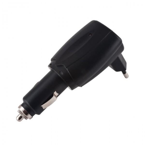 Síťová a autonabíječka s USB konektorem, 5V/1A