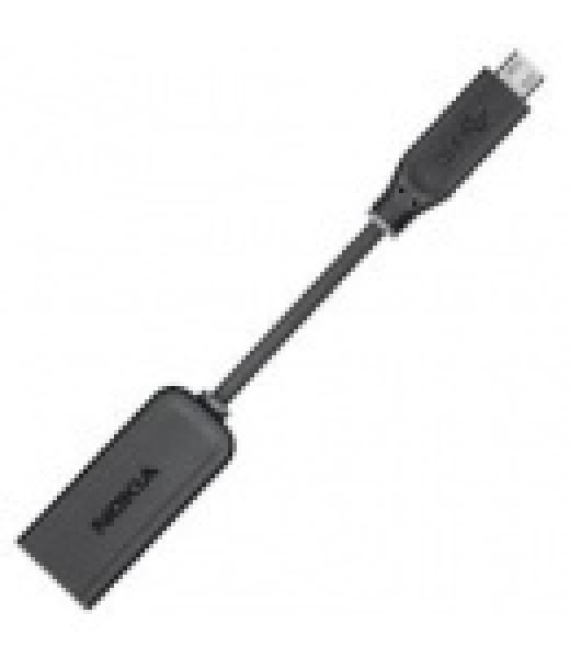 Adaptér 2mm - microUSB k nabíječkám, Black