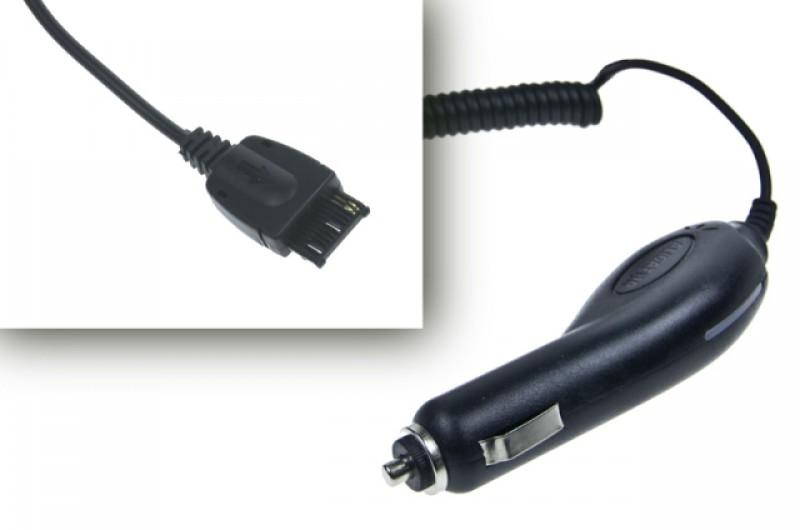 Nabíječka do auta pro Siemens x55 / A52 / x60 / CF / C62 / x65, Black