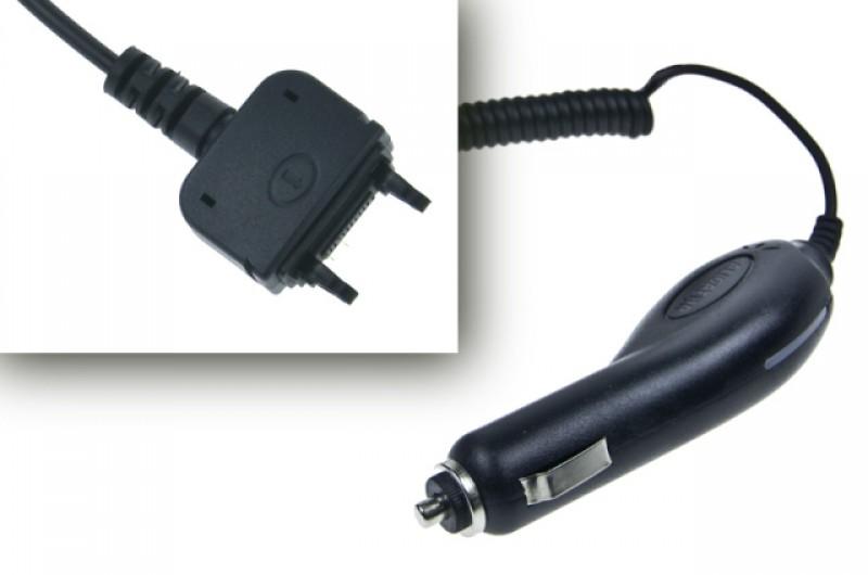 Nabíječka do auta pro Sony Ericsson K750i / D750i / Z520i / S600i / W800, Black
