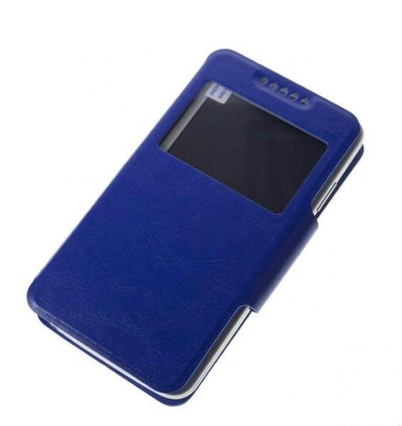 "Pouzdro BOOK WINDOW velikost XL (5""- 5,5""), Blue"