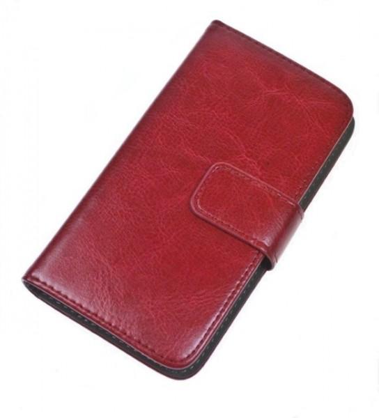"Pouzdro BOOK UNI velikost XL (5""- 5,5""), red"