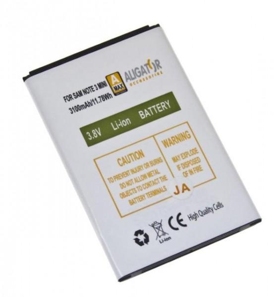Baterie Li-Ion pro Samsung Galaxy Note 3 Neo, 3100 mAh, kompatibilní, nahrazuje EB-BN750BBE
