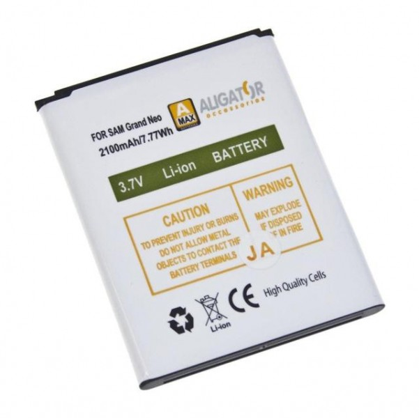 Baterie Li-Ion pro Samsung Galaxy Grand Neo (i9060) 2100 mAh, kompatibilní, nahrazuje EB535163LU