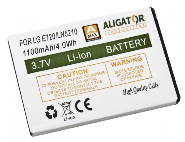 Baterie Aligator pro LG Optimus Chic, Li-ION 1100 mAh, nahrazuje LGIP-401N