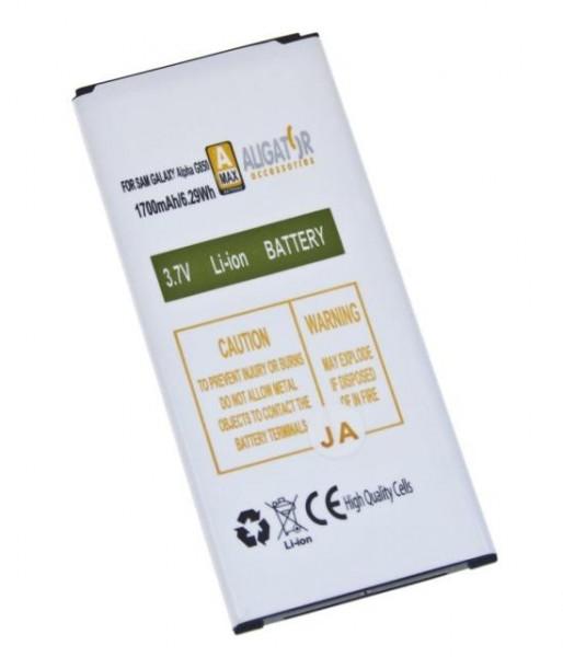 Baterie ALIGATOR pro Samsung Galaxy Alpha, Li-ION 1700 mAh, nahrazuje EB-BG850BB