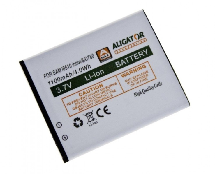 Baterie ALIGATOR pro Samsung Galaxy 8, Li-ION 1100 mAh, nahrazuje AB474350BE