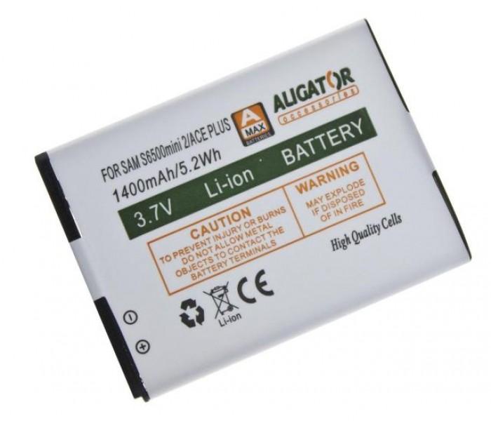 Baterie ALIGATOR pro Samsung Galaxy mini 2, Li-Ion 1400 mAh, nahrazuje EB464358VU