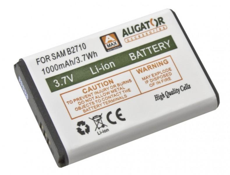 Baterie ALIGATOR pro Samsung Galaxy B2710/B2100/C3300, Li-Ion 1000 mAh