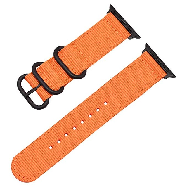 Handodo Nylon Pásek pro iWatch 4 44mm Orange (EU Blister)