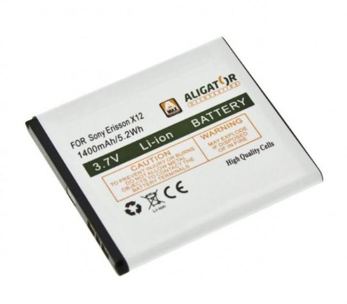 Baterie Aligator pro Sony Ericsson XPERIA Arc X12/ Xperia Arc S LI-ION 1400 mAh, nahrazuje BA750