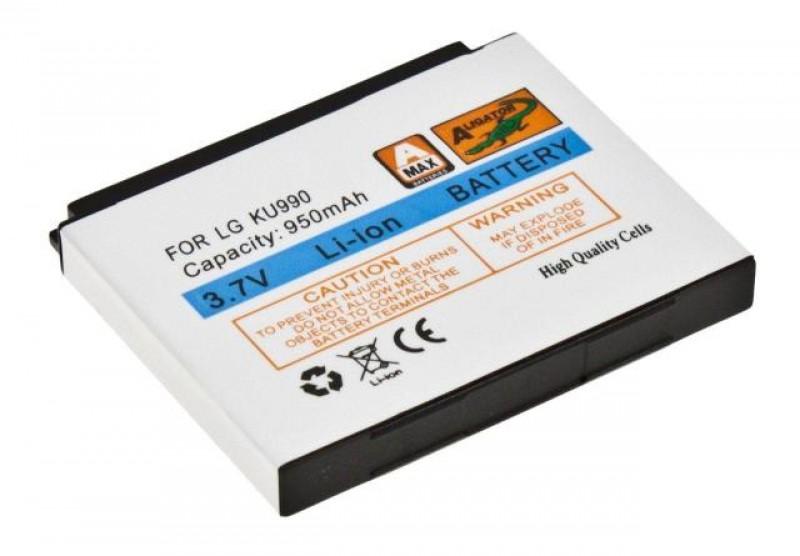 Baterie Aligator pro LG KU990, Li-ION 950 mAh, kompatibilní