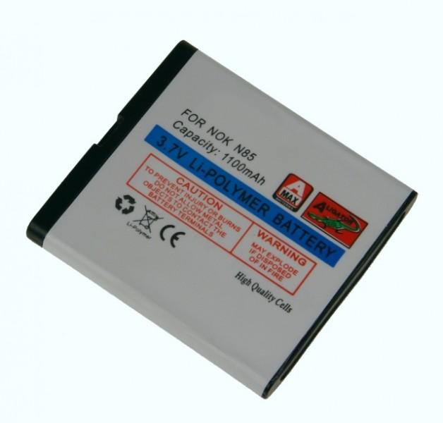 Baterie Aligator pro Nokia N85, Li-POL, 1100 mAh, kompatibilní, nahrazuje BL-5K