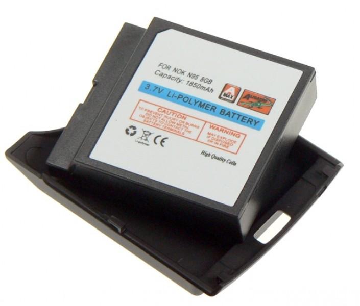 Baterie Aligator pro Nokia N95 8GB, Li-POL, 1850 mAh se zadním krytem, kompatibilní