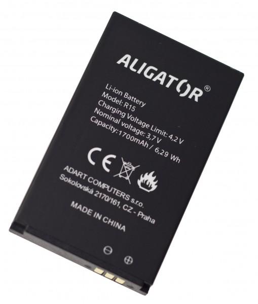 Baterie ALIGATOR R15 eXtremo, Li-Ion 1700 mAh, originální