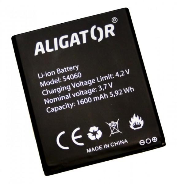 Baterie ALIGATOR S4060 DUO, Li-Ion 1600 mAh, originální
