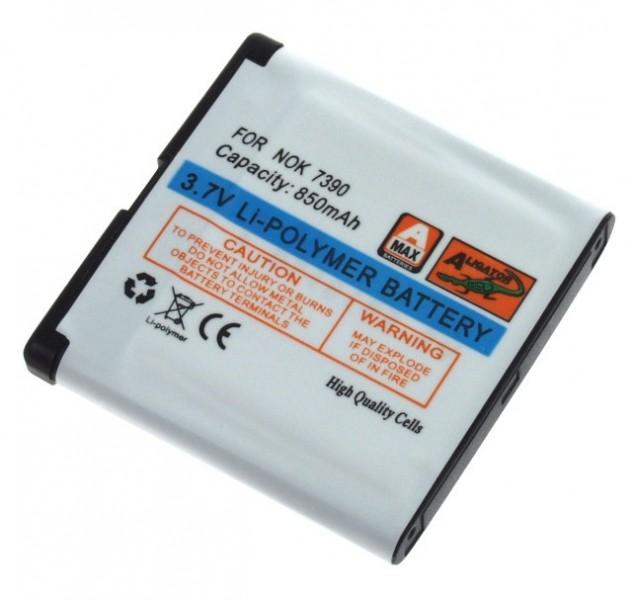 Baterie Aligator pro Nokia 6110Nav/5610XM/7390, Li-POL, 850 mAh, kompatibilní, nahrazuje BP-5M
