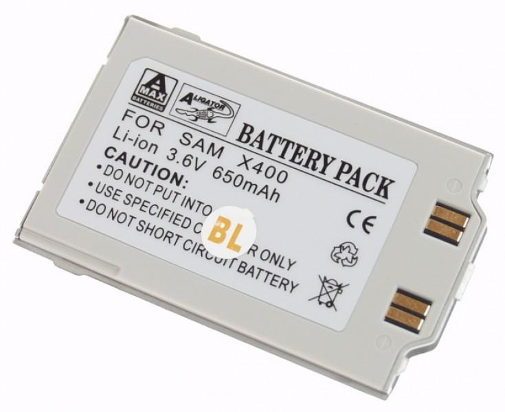 Baterie Aligator pro Samsung SGH-X400, Li-ION, 650mAh, kompatibilní