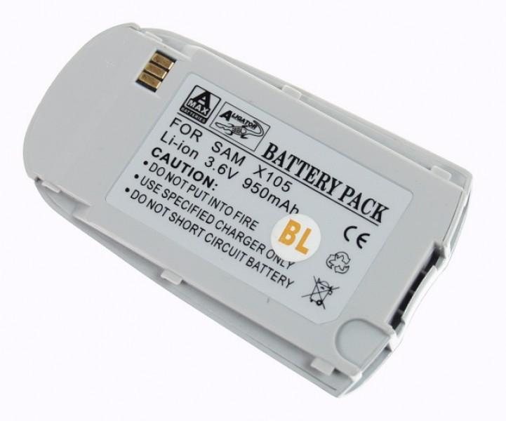 Baterie Aligator pro Samsung SGH-X105, Li-ION, 950 mAh, kompatibilní