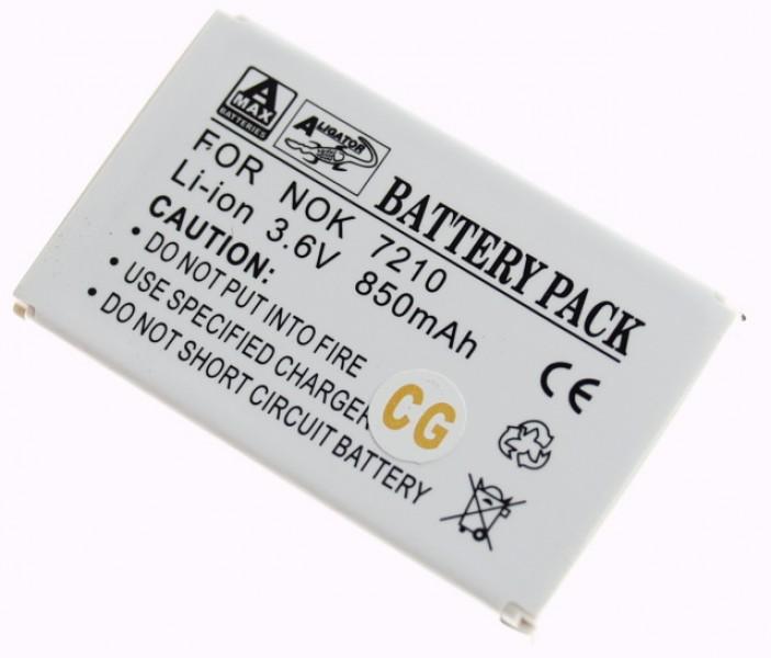Baterie Aligator pro Nokia 21/3300/66/7210/7250, Li-ION, 850mAh, kompatibilní, nahrazuje BLD-3