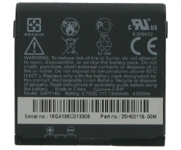 Originální baterie HTC Magic, BA S350, Li-ION 1340 mAh, bulk, originální