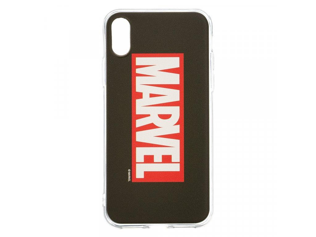 Zadní kryt Marvel 001 pro Apple iPhone 5/5S/SE, black