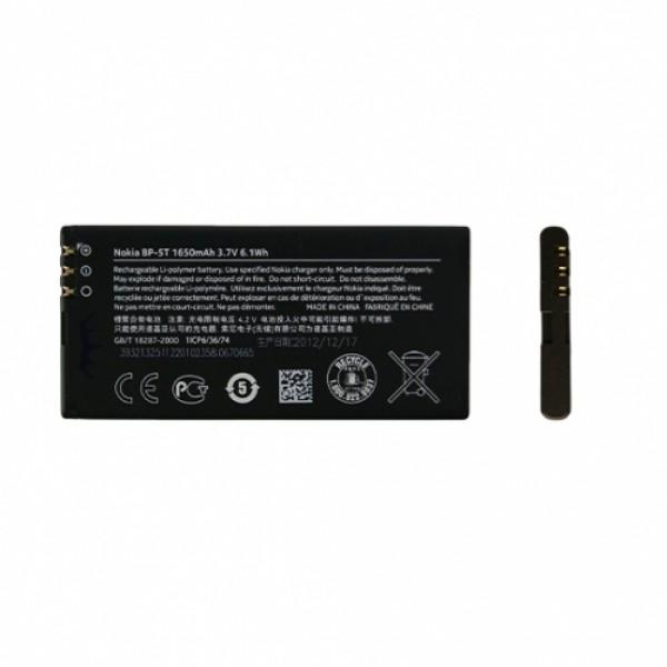 Baterie NOKIA BP-5T (Lumia 820), Li-Pol, 1650mAh, originální, bulk