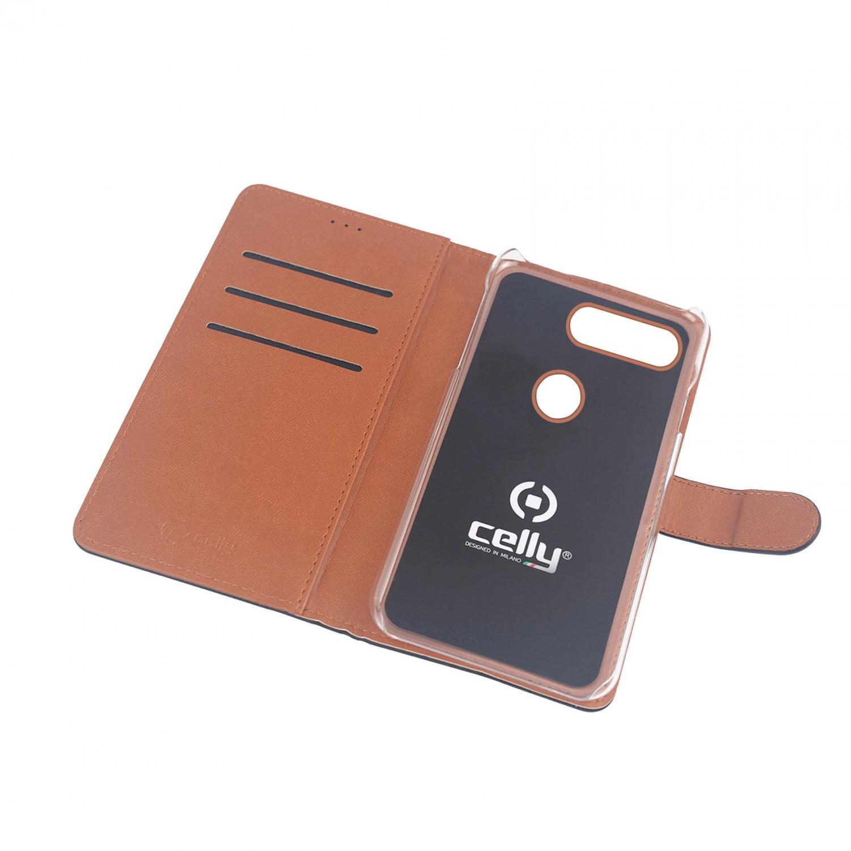 CELLY Wally flipové pouzdro pro Sony Xperia 10, černé