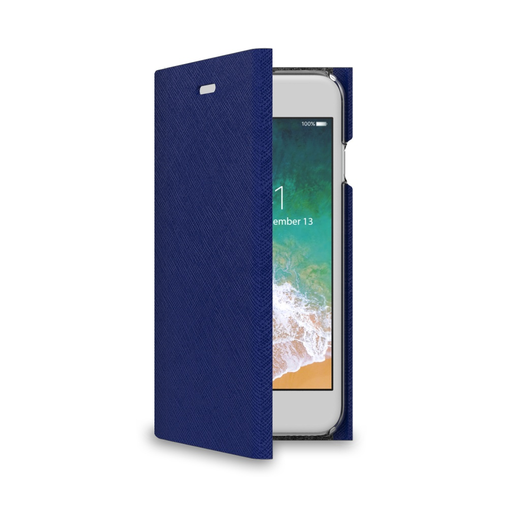 CELLY Shell flipové pouzdro pro Apple iPhone 7/8, modré
