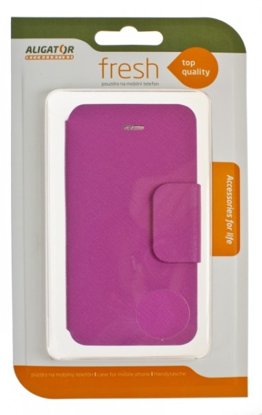 Flipové pouzdro FRESH BOOK Magnetic pro Apple iPhone 5C, Pink