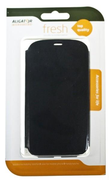 Flipové pouzdro FRESH BOOK pro Samsung GALAXY S4, grey