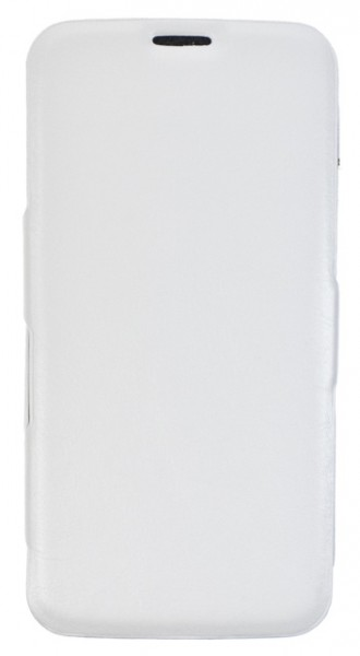 Flipové pouzdro BOOK pro Samsung GALAXY S5, se stojánkem, White